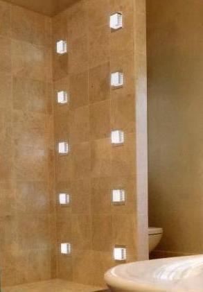 Wall Lights For Shower Room : N P Electricals Bespoke Lighting